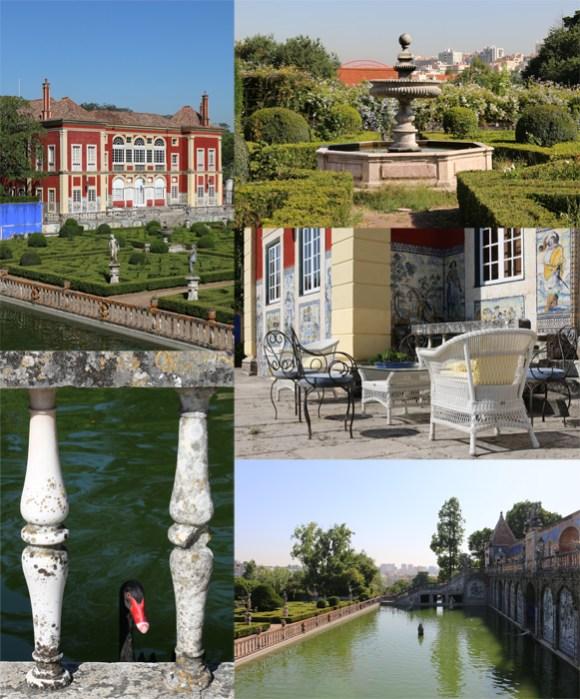 Fronteira Palace and Gardens Lisbon © Lavender's Blue Stuart Blakley
