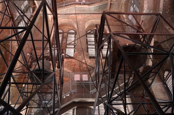 St Mary's Church Gdansk Tower Interior © Lavender's Blue Stuart Blakley