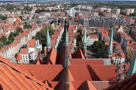 St Mary's Church Gdansk View © Lavender's Blue Stuart Blakley
