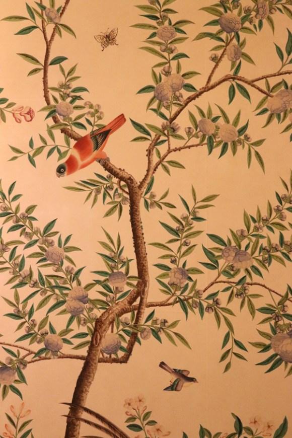 Pitzhanger Manor Party Chinese Wallpaper © Lavender's Blue Stuart Blakley