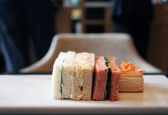 Rosewood Hotel Holborn London Sandwiches © Lavender's Blue Stuart Blakley