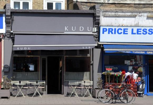 Kudu Restaurant Peckham © Lavender's Blue Stuart Blakley