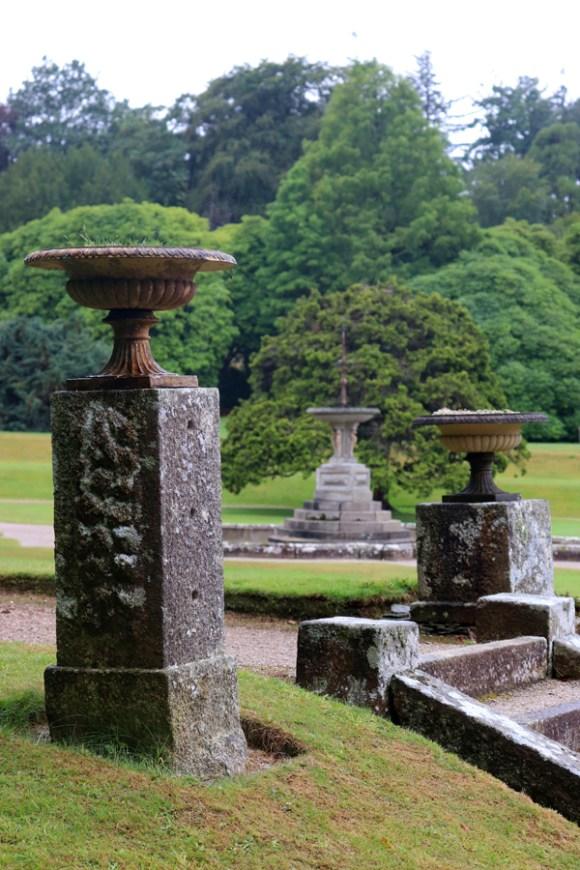 Pencarrow House and Garden Cornwall Urn © Lavender's Blue Stuart Blakley