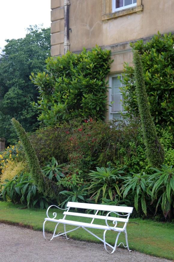Pencarrow House Cornwall South Elevation Seat © Lavender's Blue Stuart Blakley