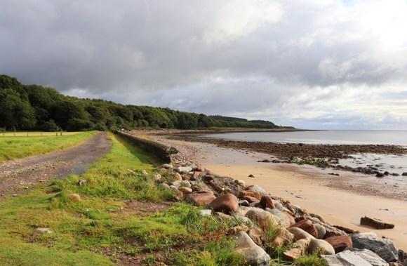 Dunrobin Castle Beach © Lavender's Blue Stuart Blakley