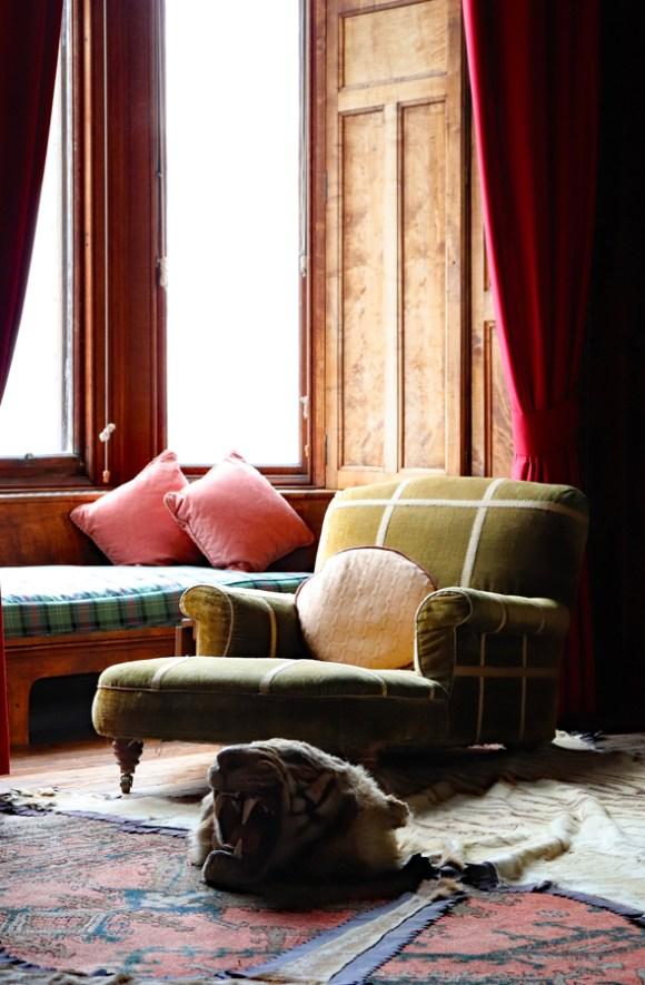 Dunrobin Castle Sitting Room © Lavender's Blue Stuart Blakley