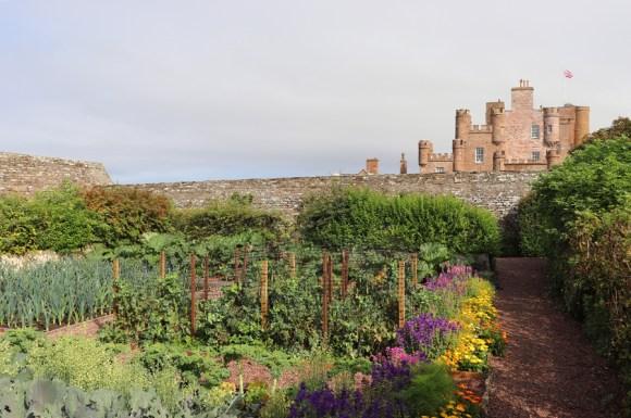 The Castle of Mey Caithness Flowerbeds © Lavender's Blue Stuart Blakley
