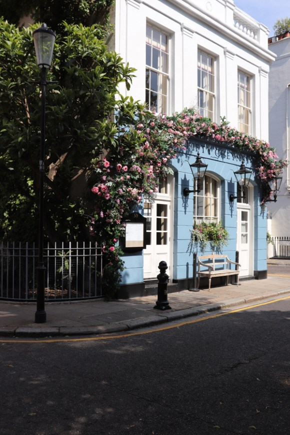 No.50 Cheyne Restaurant Chelsea London © Lavender's Blue Stuart Blakley