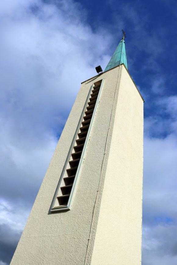 St Patrick's Church Murlog Donegal Bell Tower © Lavender's Blue Stuart Blakley