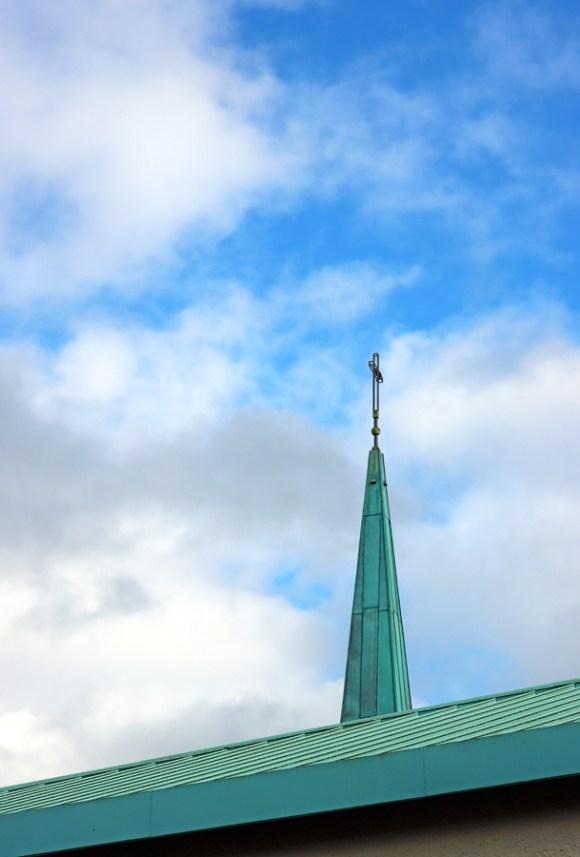 St Patrick's Church Murlog Donegal Spire © Lavender's Blue Stuart Blakley