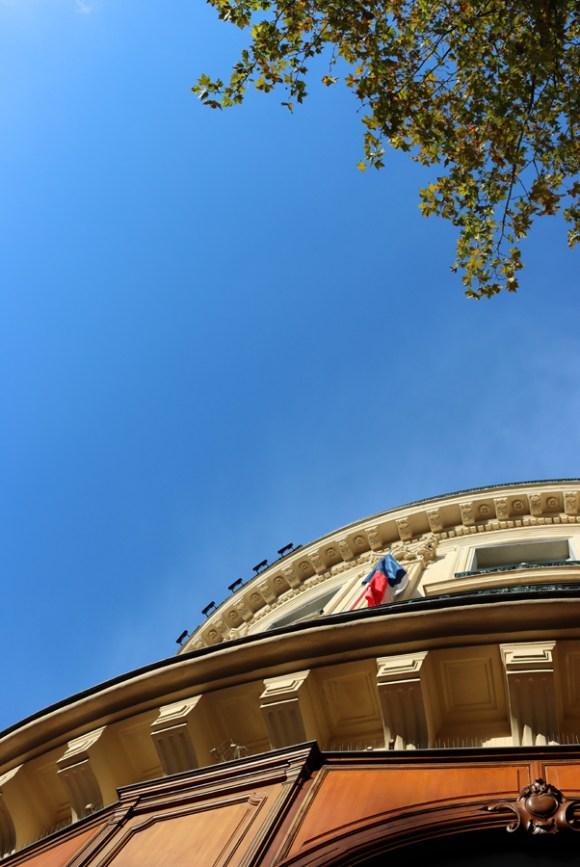 Paris Architecture in Autumn © Lavender's Blue Stuart Blakley
