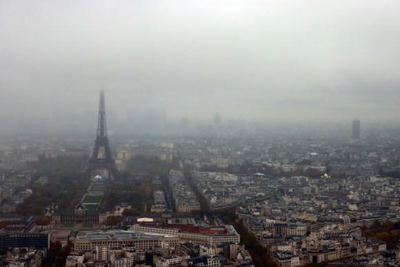 Montparnasse Tower Eiffel Tower View Paris © Lavender's Blue Stuart Blakley