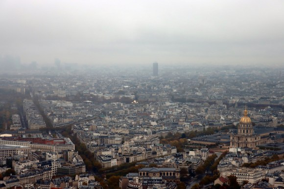 Montparnasse Tower Panorama Paris © Lavender's Blue Stuart Blakley