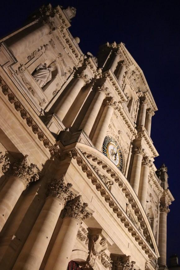 St Paul and St Louis Church Facade Le Marais Paris © Lavender's Blue Stuart Blakley