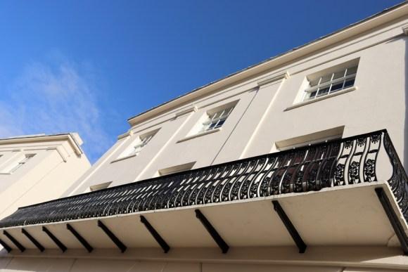 Carlton Crescent Conservation Area Southampton Balcony © Lavender's Blue Stuart Blakley