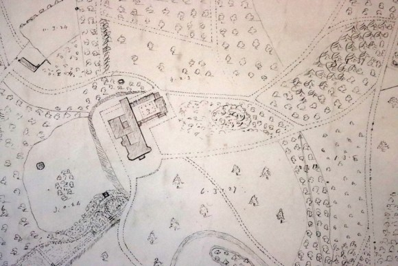 Montalto Estate Ballynahinch Map © Lavender's Blue Stuart Blakley