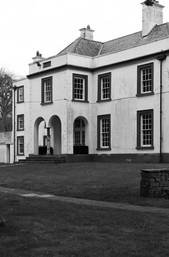 Glenmore House Cushendun Side Entrance © Lavender's Blue Stuart Blakley