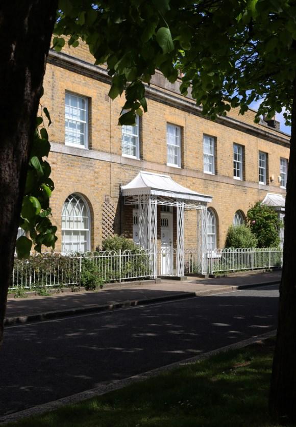 Courtenay Square Houses Duchy of Cornwall Kennington Estate © Lavender's Blue Stuart Blakley