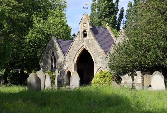 St Mary's Cemetery Battersea London Chapels © Lavender's Blue Stuart Blakley