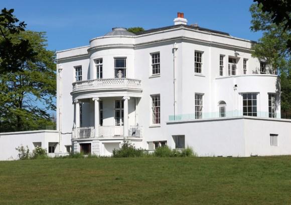 Belair House West Dulwich London Bow Front © Lavender's Blue Stuart Blakley