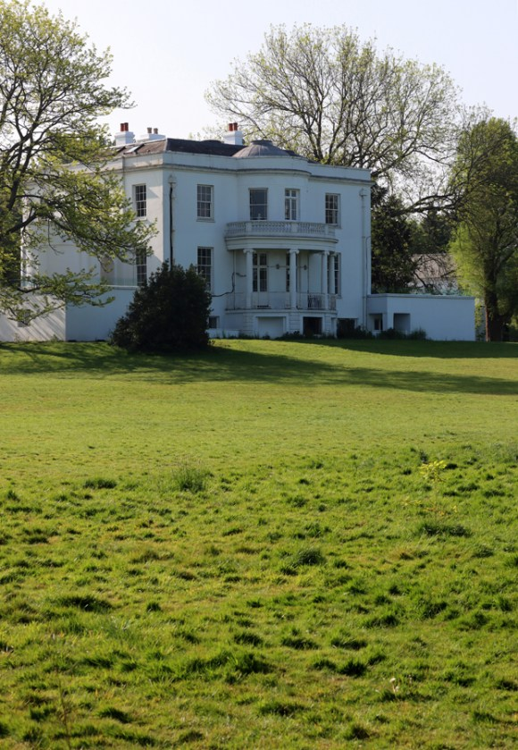 Belair House West Dulwich London Garden © Lavender's Blue Stuart Blakley