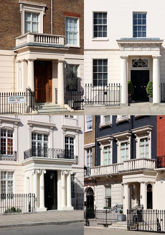 Belgravia London Doors © Lavender's Blue Stuart Blakley