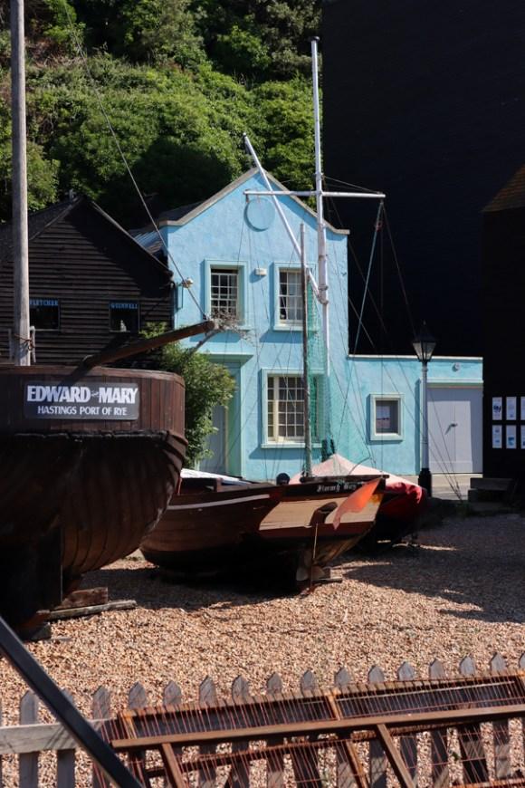 Blue House Hastings East Sussex © Lavender's Blue Stuart Blakley