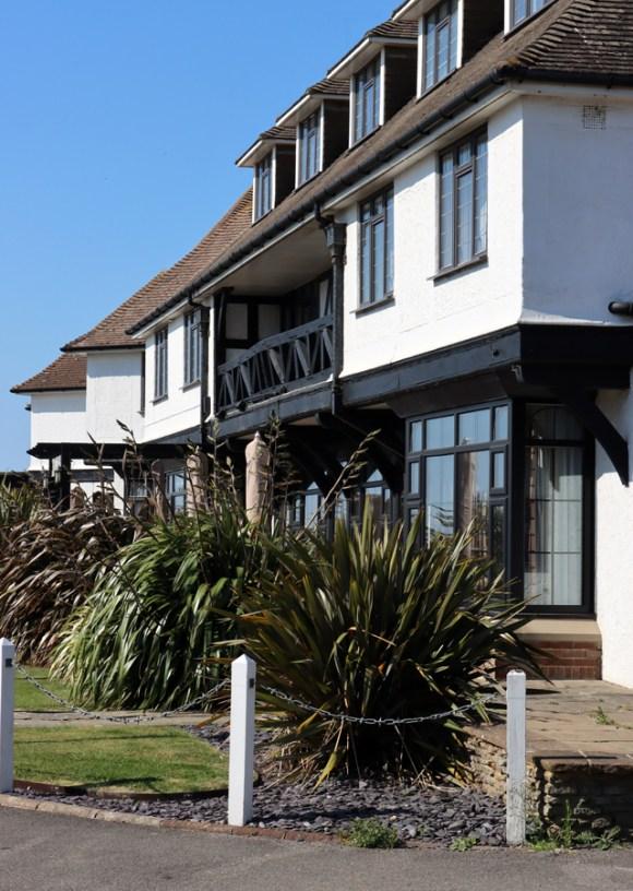 The Cooden Beach Hotel Entrance Sussex © Lavender's Blue Stuart Blakley