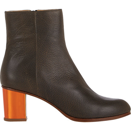 MM6 MASION MARTIN MARGIELA Mirrored Heel Ankle Boots $595 now $239
