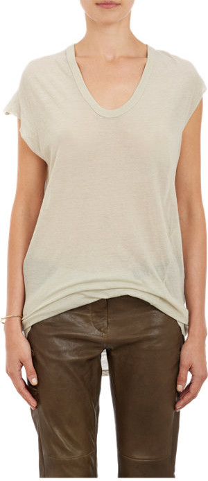 ISABEL MARANT Tissue Weight Jersey Xani T=Shirt $220 now $89