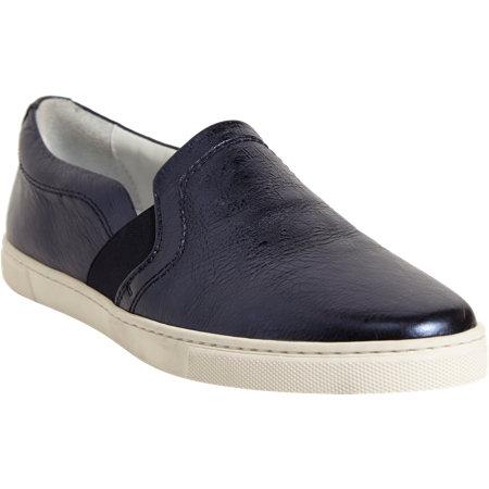 LANVIN Metallic Slip-On Sneaker $595 now $239