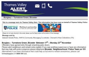 Thames Valley Alert (Nov'15)