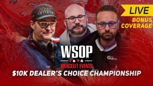 PokerGO | WSOP 10K Dealers Choice Championship Final Table Featuring Phil Hellmuth, Daniel Negreanu, and Mike Matusow