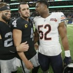 Raiders Week 5 Preview: Mack, Fields, and the Bears visit the Death Star
