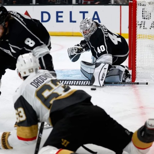 Golden Knights struggle in 6-2 loss to Kings