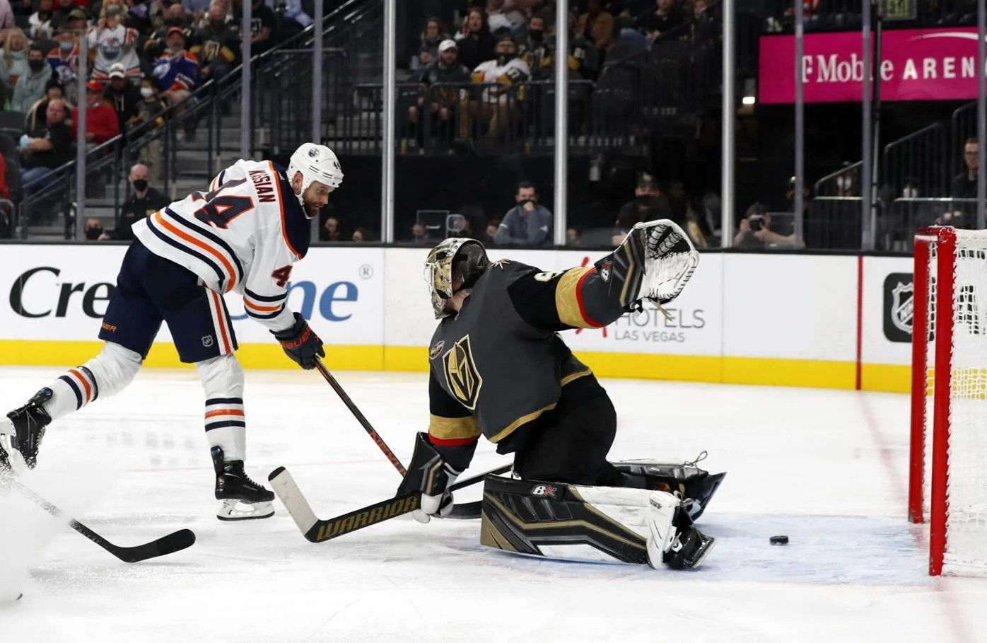 Golden Knights woes continue in 5-3 loss to Oilers