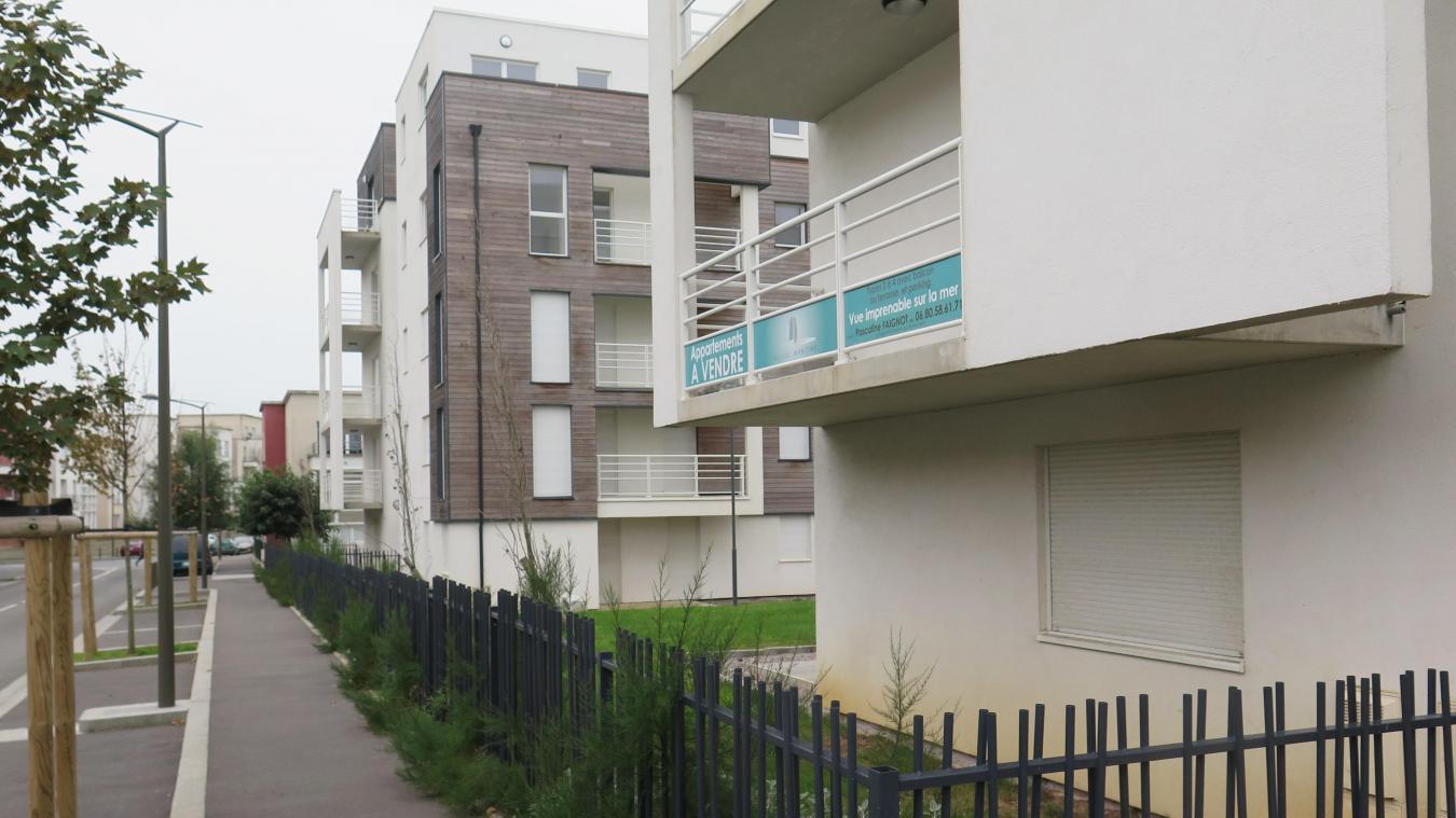 boulogne on ne se bouscule pas pour acheter des appartements de la facade maritime