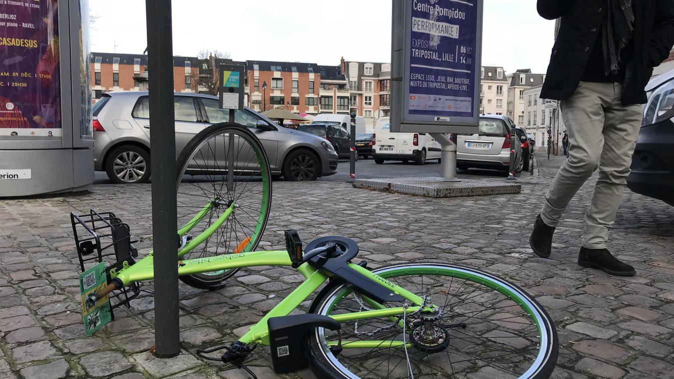 à Lille (photo VDN)