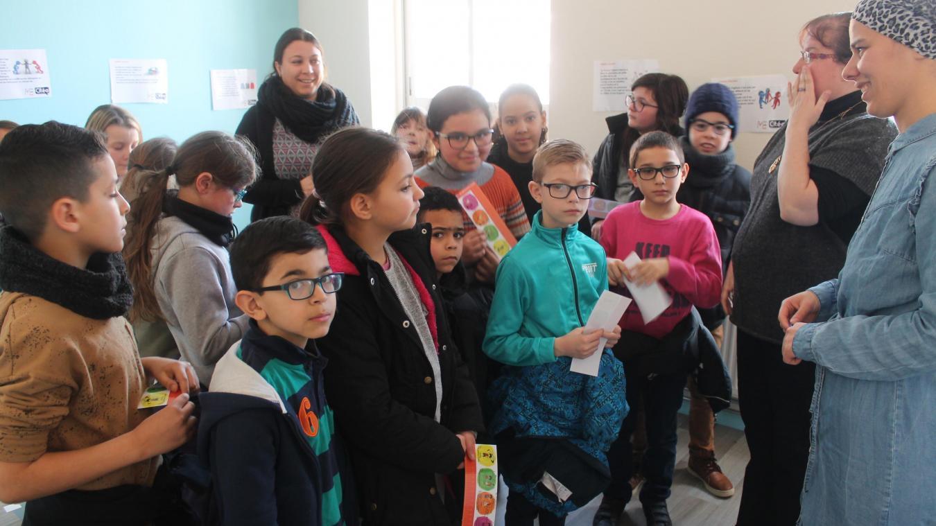 Les parents ont participé à l'encadrement des ateliers. Soixante élèves de CM1-CM2 étaient concernés.