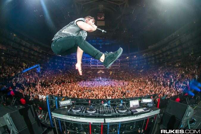 3lau performing at the Staples Center