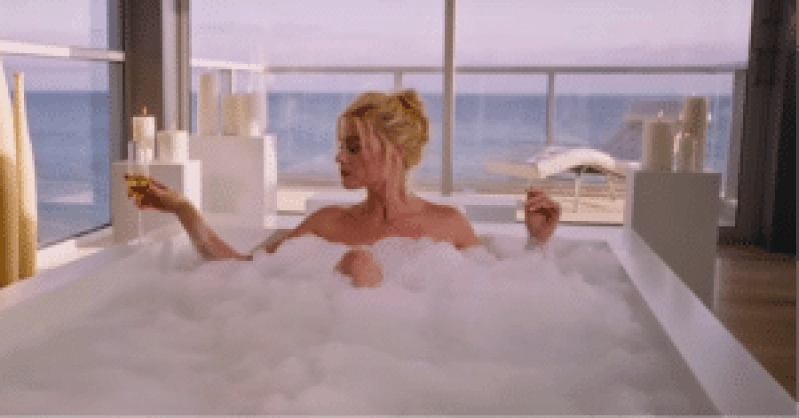 Picture of Margot Robbie from the Big Short