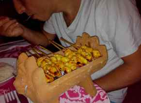 brochettes kopi pot