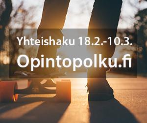 Yhteishaku 18.2.-10.3.2020 I Opintopolku.fi