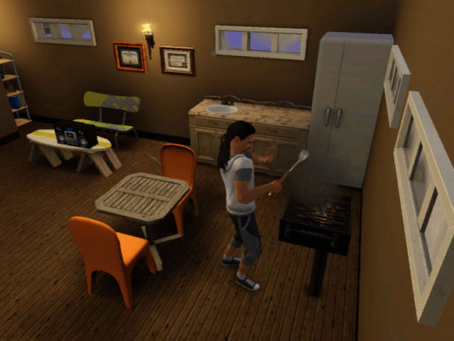 There goes dinner..