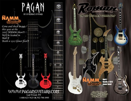 Ed Roman Guitars Custom Guitar Catalog