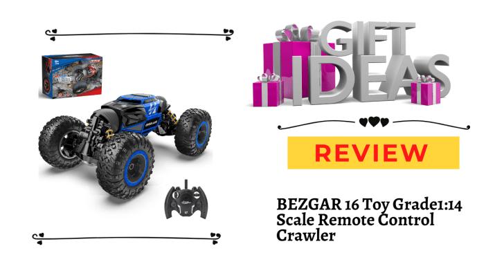 BEZGAR 16 Toy Grade1:14 Scale Remote Control Crawler
