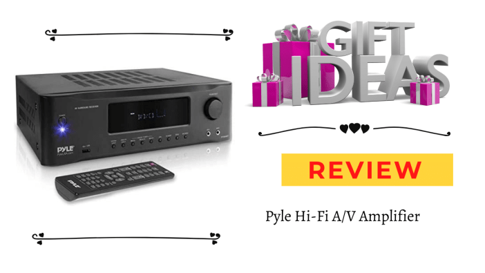 Pyle Hi-Fi A/V Amplifier