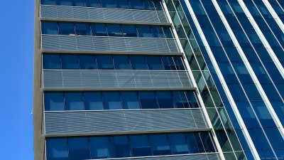 Lines of the Summerlin One building