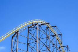 I never trust a rollercoaster!