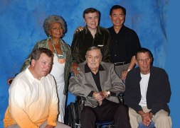 The cast of Star Trek, The Original Series